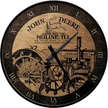Настенные часы Nostalgic-art John Deere Genuine (51041)
