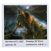 Картина по номерам KTL 1687 (30) в коробке 40х30