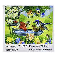 Картина по номерам KTL 1697 (30) в коробке 40х30