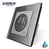 Терморегулятор Livolo для котлів опалення колір сірий (VL-C701TM3-15)