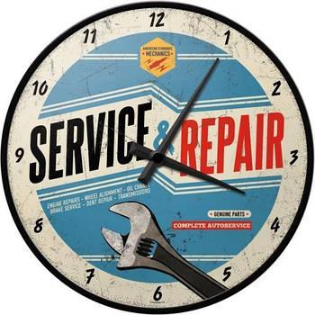 Настенные часы Nostalgic-art Service and Repair (51062)