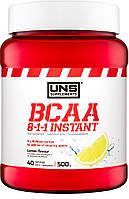 Аминокислоты BCAA UNS - BCAA 8:1:1 Instant (500 грамм) lemon/лимон