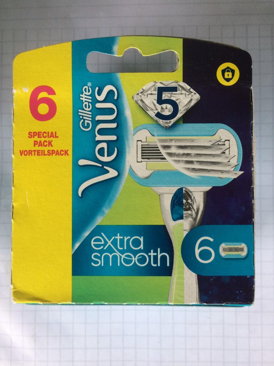 Кассеты для женщин Gillette Venus Embrace (Венус Эмбрас)   6 шт.