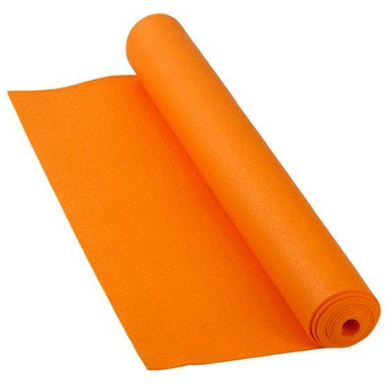 Многофункциональный коврик для йоги MS 1846-1 Оранжевый коврик для фитнеса
