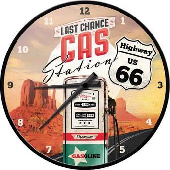Настенные часы Nostalgic-art Highway 66 Gas Station (51076)