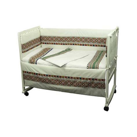"""Набор в детскую кровать размер 60х120 """"Словяночка"""" """"Зеленый"""", фото 2"""