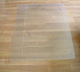 Подрезка защитного коврика под кресло 23