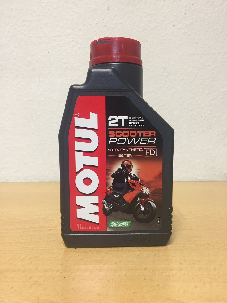 Масло MOTUL SCOOTER POWER 2T 1л (101265/105881)