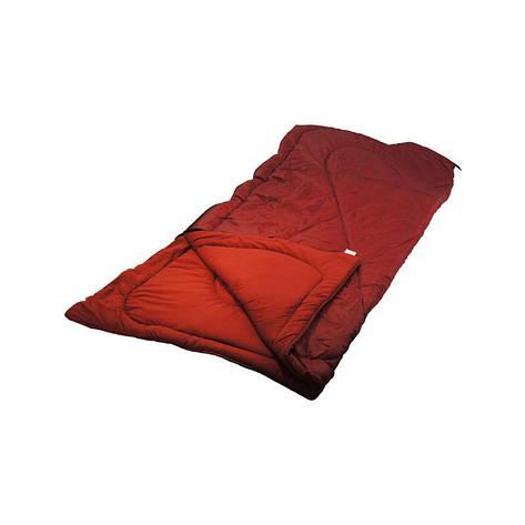 Спальный мешок М 200х70х2 бордовый, фото 2