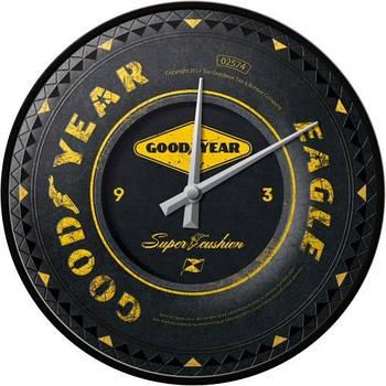 Настенные часы Nostalgic-art Goodyear Wheel (51085)