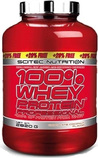 Scitec Nutrition 100% Whey Protein Professional 2820g LIMITED EDITION
