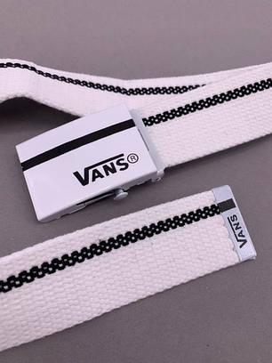 """Ремень Vans """"Белый\Черный"""", фото 2"""