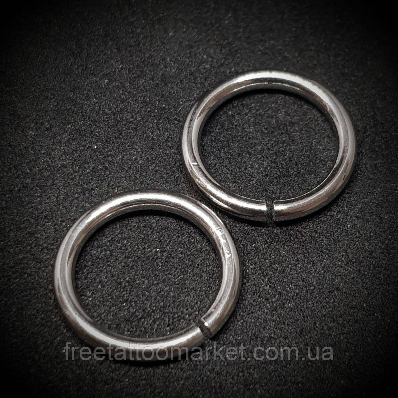 Кольцо с разгибом (сталь) 1.6 х 10мм