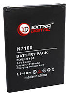 Аккумулятор Samsung N7100 Galaxy Note 2 / EB595675LU / BMS6317 (3100 mAh) ExtraDigital, фото 1