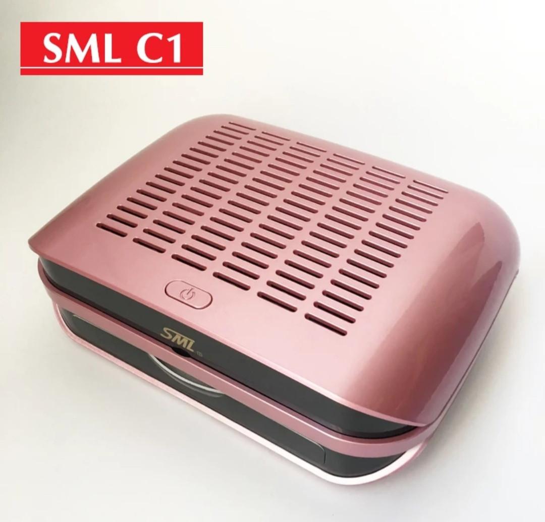 Витяжка для манікюру SML C1, рожева 68вт