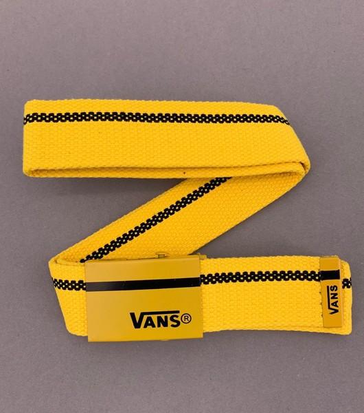 "Ремень Vans ""Желтый\Черный"""