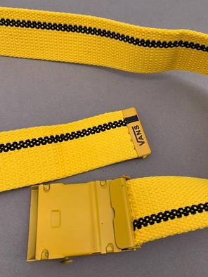"""Ремень Vans """"Желтый\Черный"""", фото 2"""