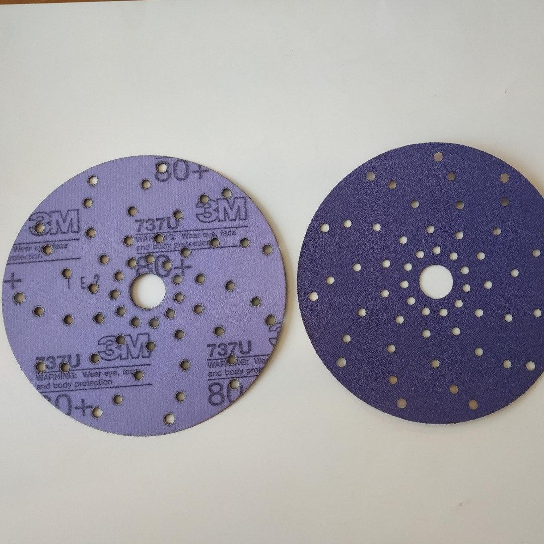 Абразивный диск 3M Cubitron Hookit Purple+ P80