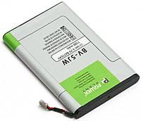 Усиленный аккумулятор Nokia Lumia 800 / BV-5JW / DV00DV6314 (1500 mAh) PowerPlant