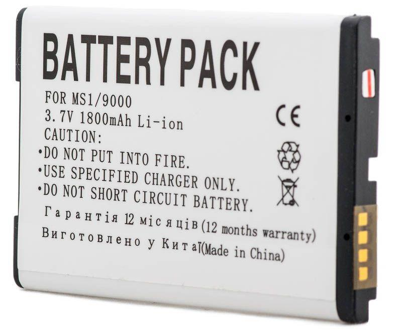 Аккумулятор Blackberry 9000 Bold / M-S1 / DV00DV6173 (1800 mAh) PowerPlant