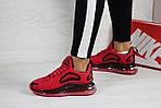 Женские кроссовки Nike Air Max 720 (красные), фото 2