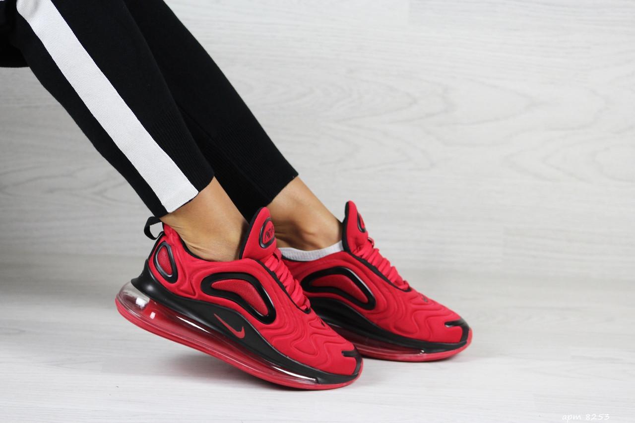 Женские кроссовки Nike Air Max 720 (красные)