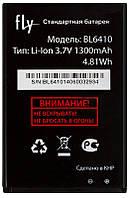 Аккумулятор Fly TS111 / BL6410 (1300mAh) 12 мес. гарантии, фото 1
