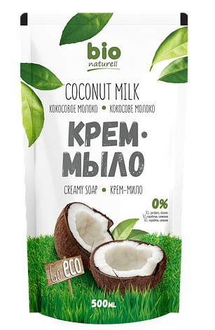 ДОЙ-ПАК Кокосовое молоко 500мл Рідке мило BION, фото 2