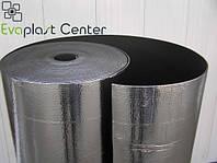 Тепло-шумоизоляция самоклеющаяся, метализированная Evaplast для помещений ЛАЙТ 3 мм, НПЭ
