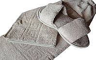 Набор для сауны и бани мужской бежевый Coronet Home Турция 50095