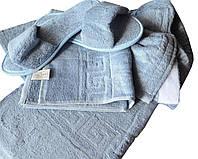 Набор для сауны и бани мужской голубой Coronet Home Турция 50096