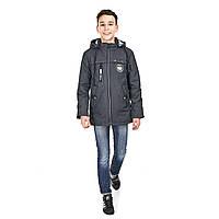 Куртка на мальчика подростка 140, 164р куртка весенняя подростковая с наушниками 8896