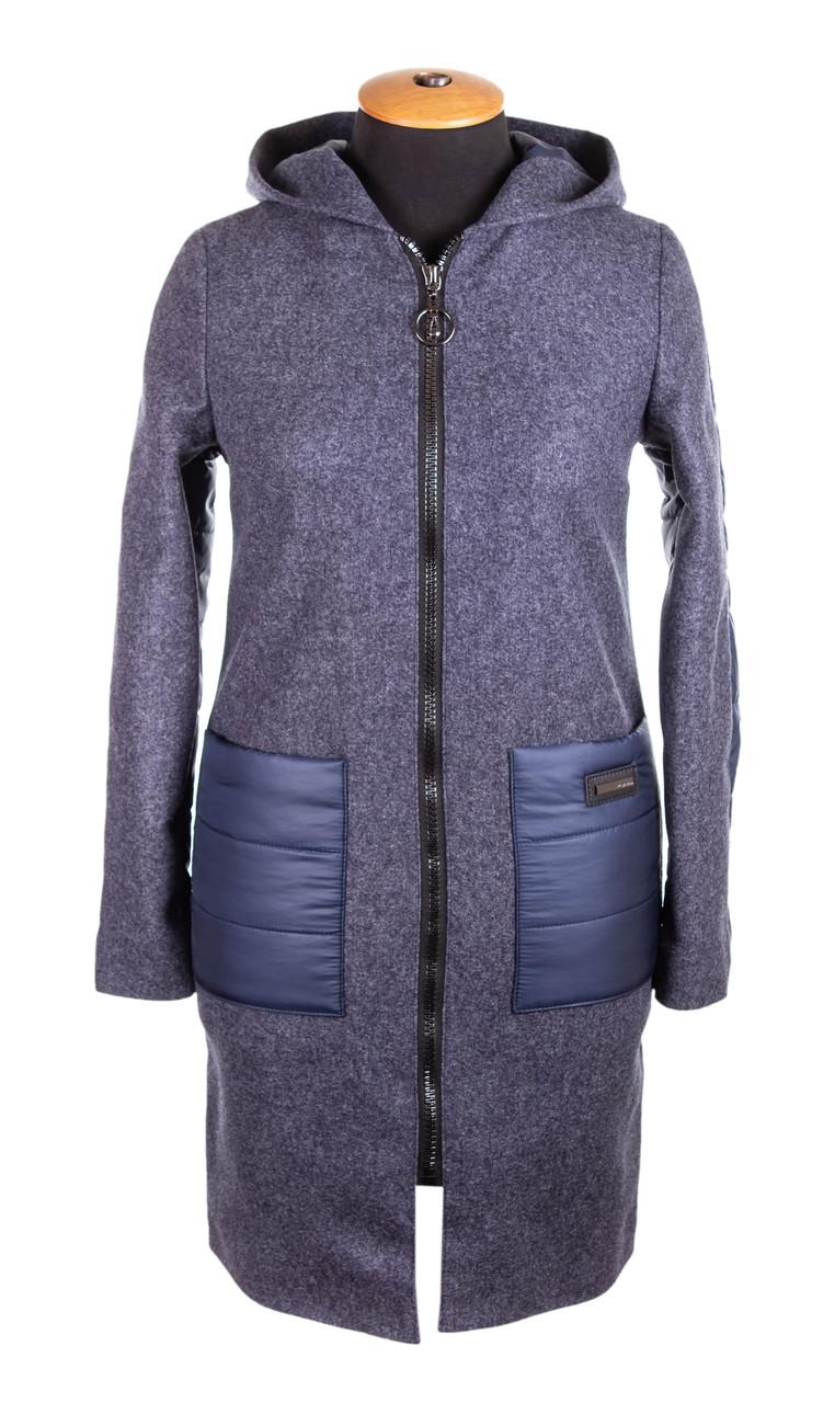 Весна женские Куртки удлиненные  42-50  пудра