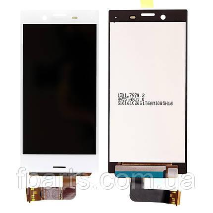 Дисплей для Sony Xperia X Compact F5321 с тачскрином (White), фото 2