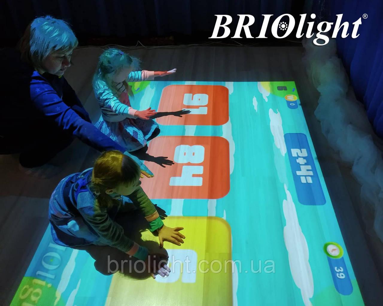 Інтерактивна підлога для шкіл та ІРЦ Briolight S - фото 2