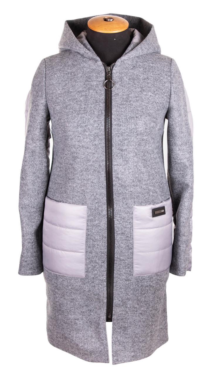 Куртка женская осень-весна от производителя  42-50  серый