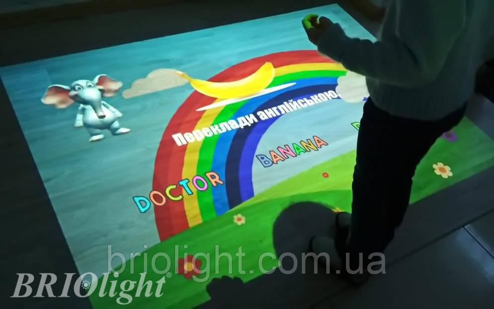 Інтерактивна підлога для шкіл та ІРЦ Briolight S - фото 6