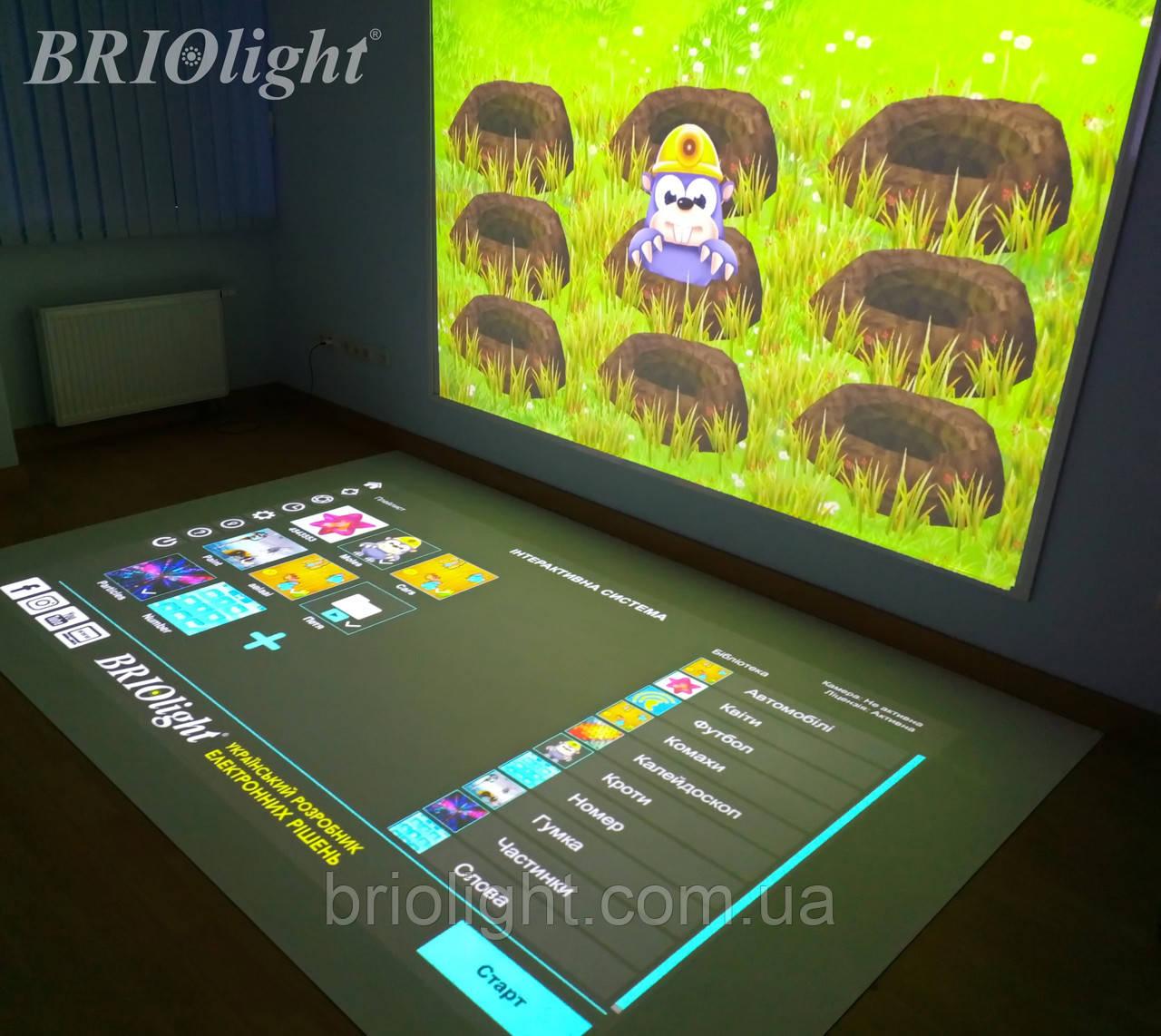 Інтерактивна підлога для шкіл та ІРЦ Briolight S - фото 7