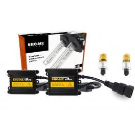 Комплект ксенона H8 5000K +50% Sho-Me Ultra Slim