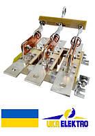 Разъединитель РЕ19-31-311900 100А треполюсный переднего присоединения с центральной штангой.