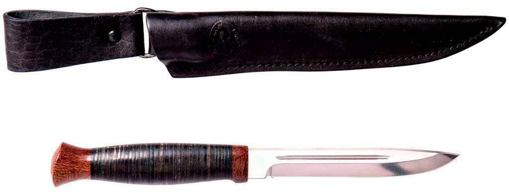"Нож ""АиР""  ""Финка-3"" (кожа), фото 2"