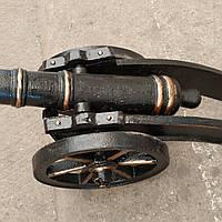 Пушка чугунная казацкая  макет большая  сувенирная (вес - 30кг)