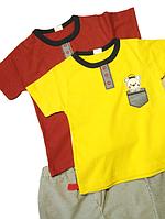 Комплект футболка и шорты  детские летние на 1-1.5 года Турция