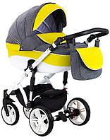 Детская универсальная коляска 2 в 1 Adamex Prince X-14-B