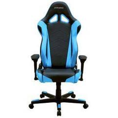 Кресло для геймеров DXRAcer Racing OH/RE0/NB Black/Blue