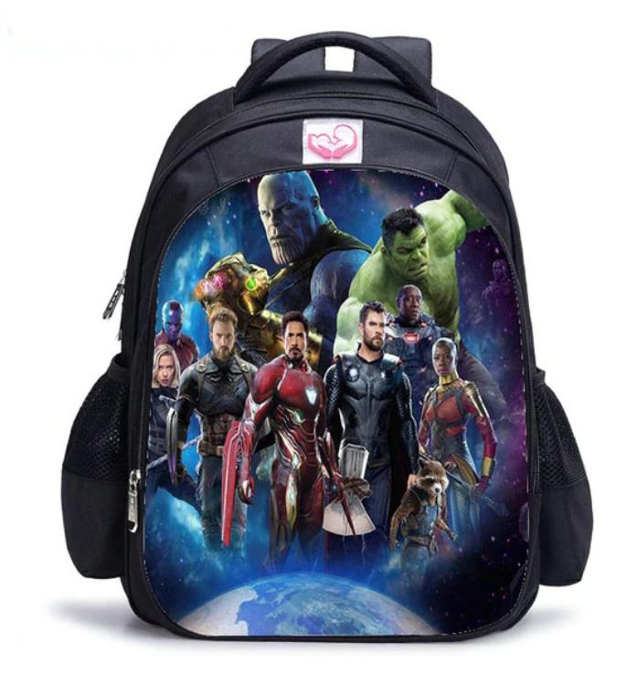 Рюкзак школьный городской с рисунком Марвел