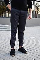 Штаны джогеры мужские Anzo из качественного коттона, черные, ТОП-реплика