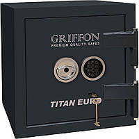 Огневзломостойкий сейф GRIFFON CLE.II.50.КЕ черный (Украина)
