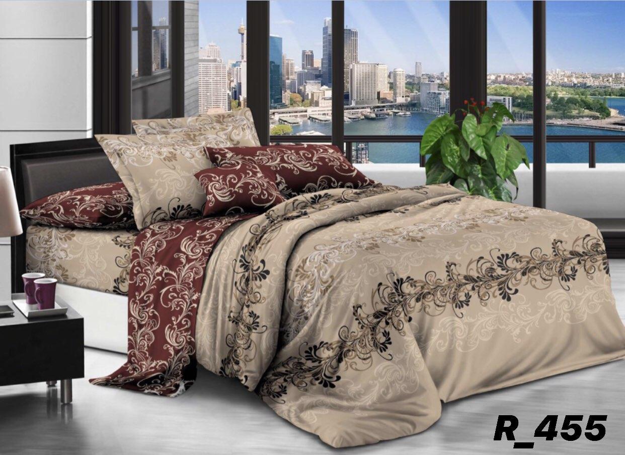 Комплект постельного белья двуспальный Ранфорc