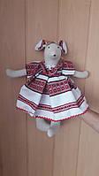 Мышка Марийка  Vikamade игрушка лен., фото 1